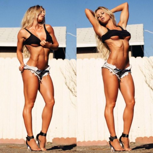 Paige Hathaway in hot pants